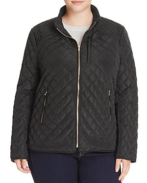 New Bagatelle Plus Quilted Jacket, Black