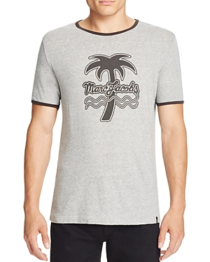 Marc Jacobs Palm Tree Graphic Ringer Tee