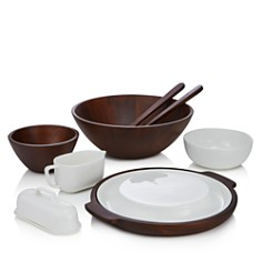 Hudson Park Wood and Bone China Serveware Collection - 100% Exclusive - Bloomingdale's_0
