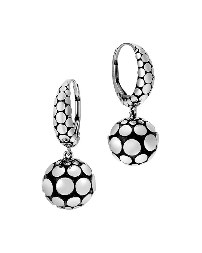 JOHN HARDY - Sterling Silver Dot Drop Earrings