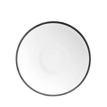 L'Objet - Soie Tressee Black Large Coupe Bowl