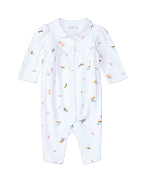 Ralph Lauren Childrenswear Infant Girls' Bear Print Coverall - Sizes Newborn-9 Months