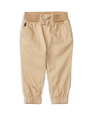 Ralph Lauren Childrenswear Infant Girls' Chino Joggers - Sizes 6-24 Months