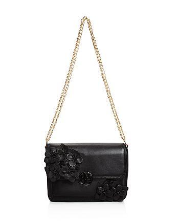 5d0ea730840 Tory Burch - Duet Chain Flower Shoulder Bag