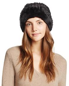 Surell - Rabbit Fur Slouch Hat