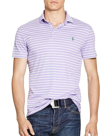 07285160 Polo Ralph Lauren Striped Pima Soft Touch Regular Fit Polo Shirt ...