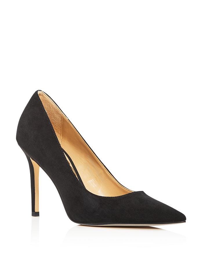 Sam Edelman - Women's Hazel Suede Pointed Toe Pumps