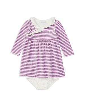 Ralph Lauren Childrenswear Girls' Striped Velour Dress & Bloomer Set - Baby