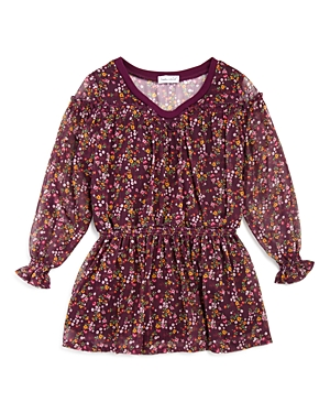 Splendid Girls Floral Crinkle Chiffon Dress  Sizes 26X