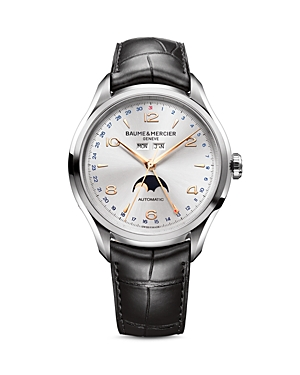 Baume & Mercier Clifton Automatic Moon Phase Watch, 43mm