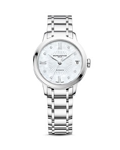 Baume & Mercier - Classima Automatic Diamond Watch, 31mm
