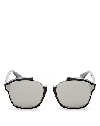Dior - Women's Abstract Square Mirrored Sunglasses, 58mm