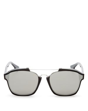 Dior Women's Abstract Square Mirrored Sunglasses, 58mm