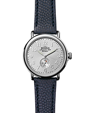 Shinola The Runwell Leather Strap Watch, 41mm-Jewelry & Accessories