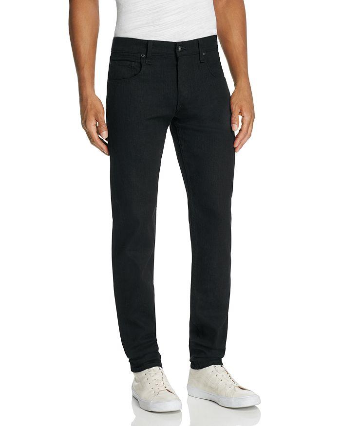 rag & bone - Fit 1 Skinny Fit Jeans in Black