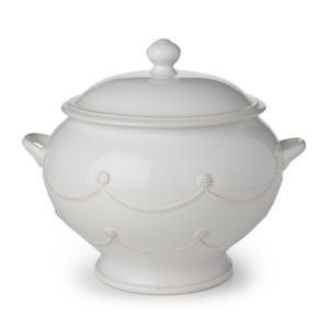 Juliska Berry & Thread Whitewash Soup Tureen