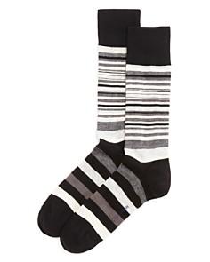 Cole Haan Town Stripe Crew Socks - Bloomingdale's_0