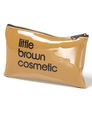 Bloomingdale's Little Brown Cosmetics Case - 100% Exclusive