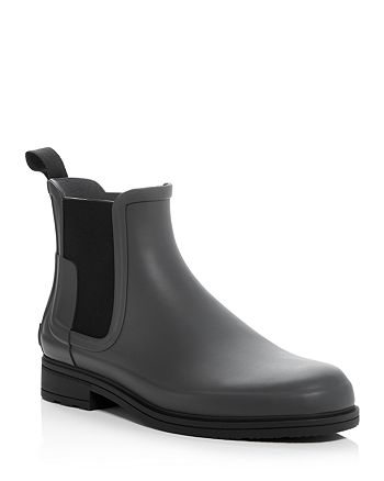 Hunter - Men's Original Refined Chelsea Rain Boots