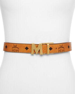 Mcm Color Visetos Reversible Belt