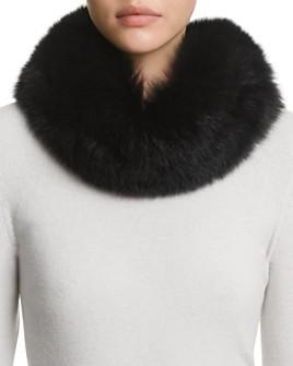 Surell - Fox Fur Headband Scarf