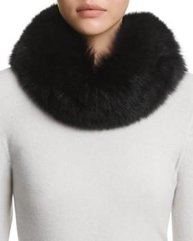 10ebbee446aa Surell - Fox Fur Headband Scarf ...