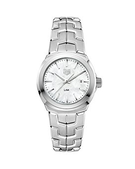 TAG Heuer - Link Mother-Of-Pearl Watch, 32mm