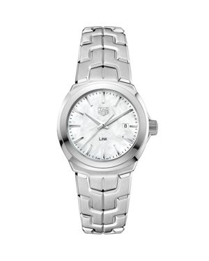 TAG HEUER Wbc1310.Ba0600 Mother-Of-Pearl And Stainless Steel Watches in Silver