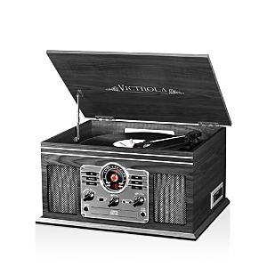 Victrola Classic 6-In-1 Wooden Music Center