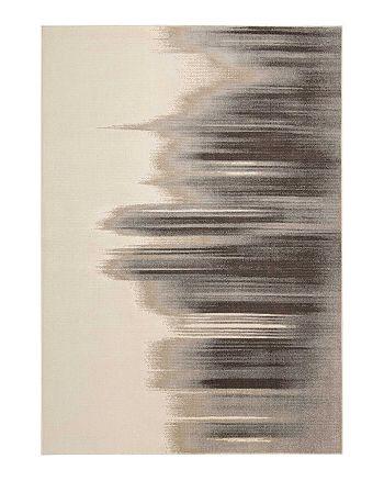 "Calvin Klein - Gradient Rug - Tidal, 5'6"" x 8'"