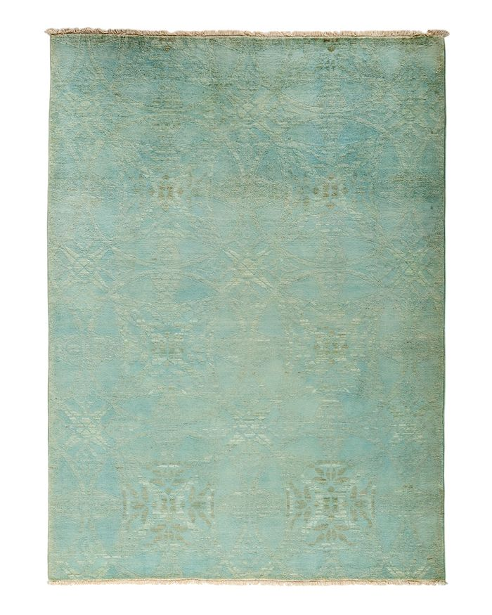 """Solo Rugs - Vibrance Overdyed Area Rug, 5'2"""" x 6'10"""""""