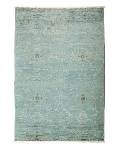 """Solo Rugs - Vibrance Overdyed Area Rug, 4'3"""" x 6'3"""""""