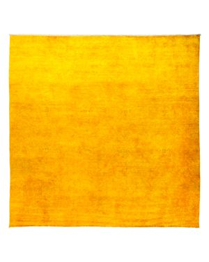 Solo Rugs Vibrance Overdyed Area Rug, 10'1 x 10'1
