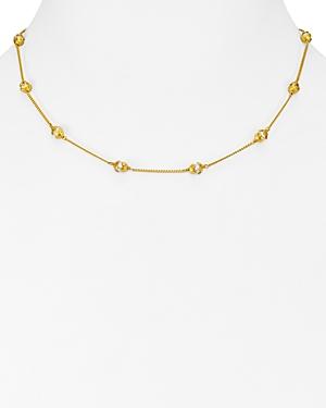 Julie Vos Penelope Station Necklace, 16