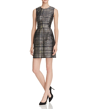 Milly Confetti Check Coco Dress