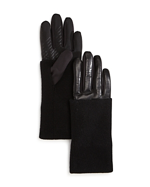 UR Levi Leather Tech Gloves at Bloomingdale's