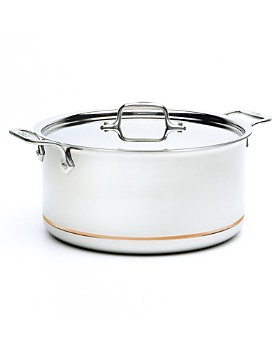 All-Clad - Copper Core 8-Quart Covered Stock Pot