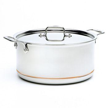 All-Clad - Copper Core 8-Quart Covered Stock Pot
