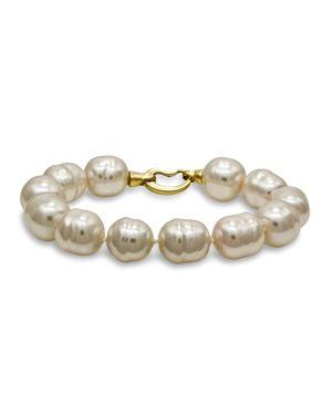 Majorica Simulated Baroque Pearl Bracelet