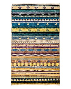 "Solo Rugs - Tribal Oriental Area Rug, 3'2"" x 5'3"""