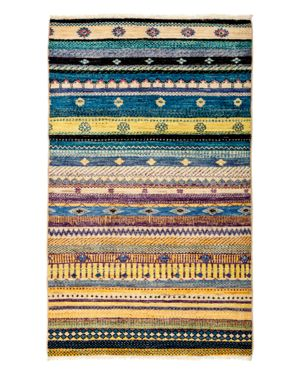 Solo Rugs Tribal Oriental Area Rug, 3'2 x 5'3