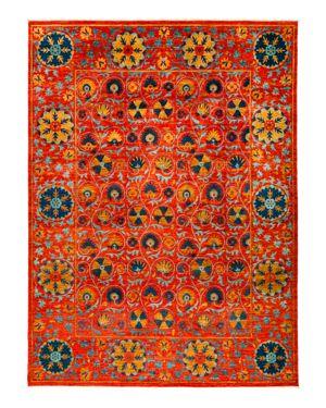 Solo Rugs Suzani Oriental Area Rug, 9'2 x 12'3