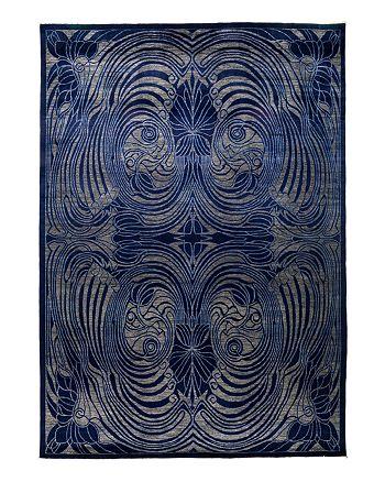 "Solo Rugs - Suzani Oriental Area Rug, 10' x 13'10"""
