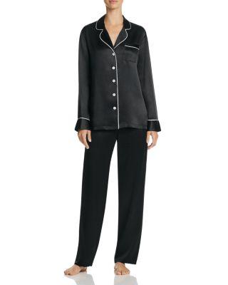 Long Silk Pajama Set by Ginia