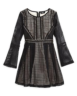 Bardot Junior Girls Panelled Grid Dress  Sizes 816