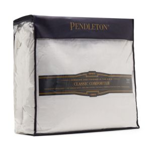 pendleton 174 classic wool comforter in white bed bedroom decor with designer details and luxury fabrics 812