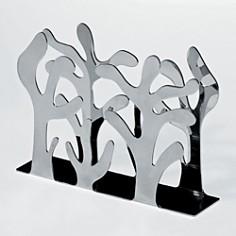 """Alessi - Alessi """"Mediterraneo"""" Napkin Holder, Stainless Steel"""