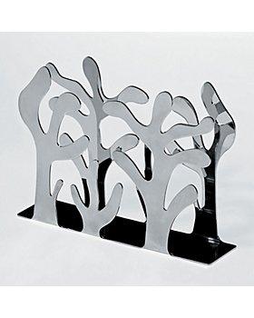 Alessi - Alessi Mediterraneo Napkin Holder, Stainless steel