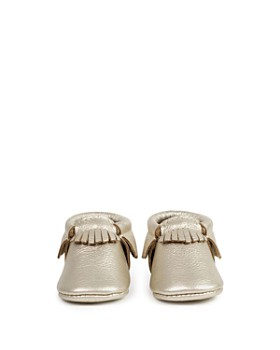 Freshly Picked - Unisex Metallic Moccasins - Baby