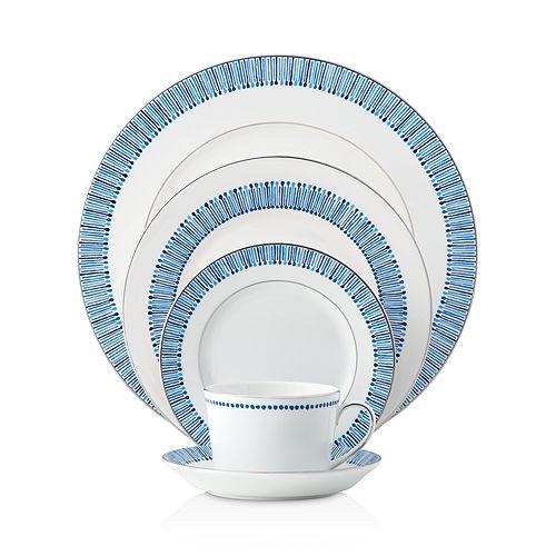Monique Lhuillier Waterford - Malibu Azure Dinnerware